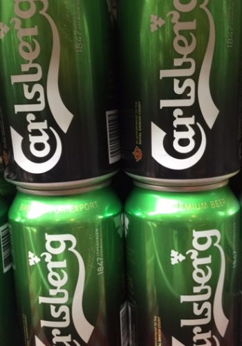 Carlsberg 330ml Chilled