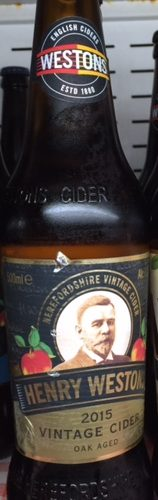 Weston Vintage Cider 500ml 8.2% Chilled
