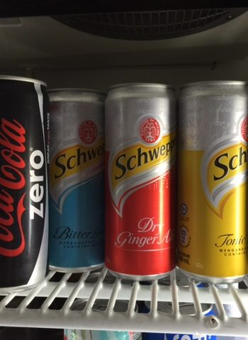 Chilled Soft Drinks (coke Light, Coke Zero, Schweppes)