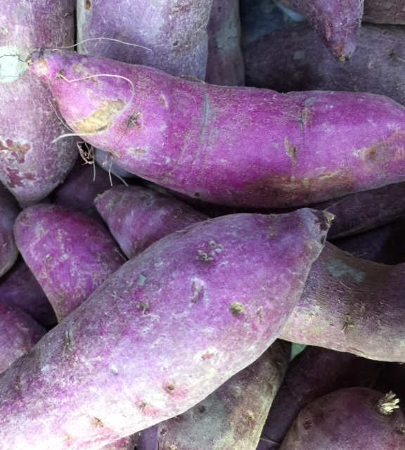 Japanese Purple Sweet Potato 5pcs