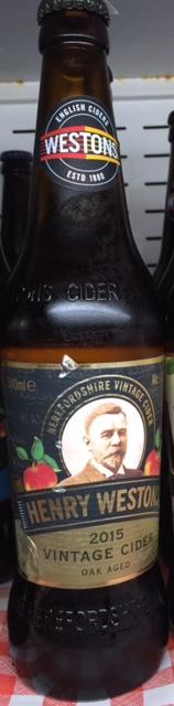 Weston Vintage Cider 500ml 8.2% Chilled