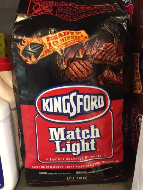 Kingsford Briquettes Match And Light 2.49kg